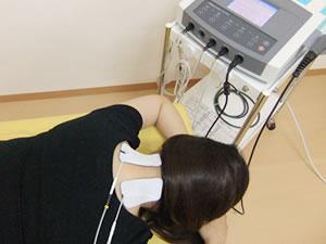 肩こり 微弱電流療法
